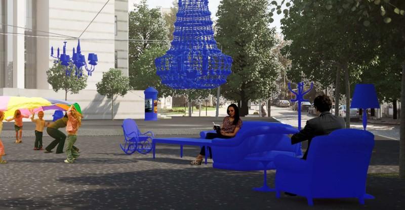 "Площад пред Градския дом на културата ""Борис Христов"" в Пловдив"