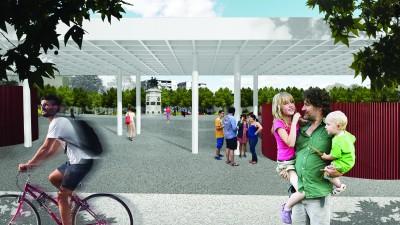 New Urban Park in Haskovo